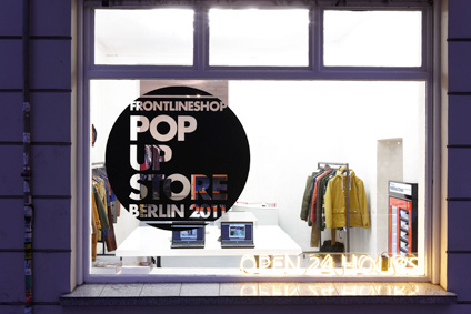 frontlineshop Pop up Store Berlin