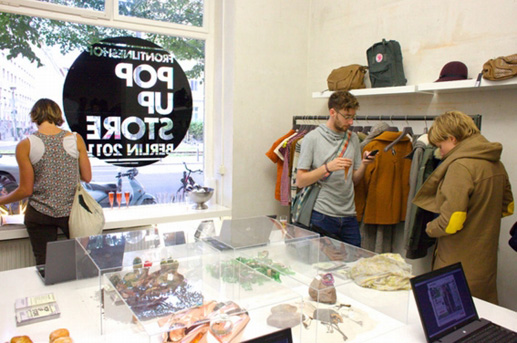 frontlineshop Pop up Store Berlin Abbildung 9